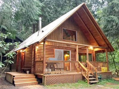 Photo for Mt. Baker Rim Cabin #17 - Log Cabin - BBQ - Pets Ok - WiFi - Sleeps 8