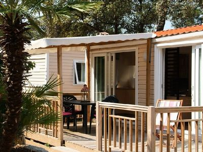 Photo for Camping Holiday Green ***** - Cottage Riviera Club 4 Rooms 6 People