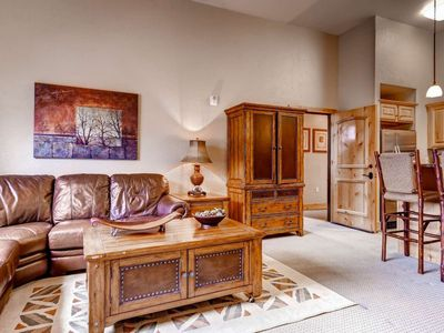 Photo for *FREE SKI RENTAL* Luxury Family Friendly Home - 1 Bedroom /2 Bathrooms + Murphy Bed! Walk to Canyons