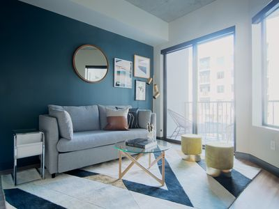 Photo for Sonder | Mill Ave | Tranquil 1BR + Sofa Bed