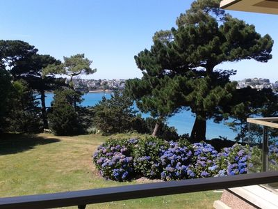 Photo for STUDIO 30 m2 terrace with sea view in private park
