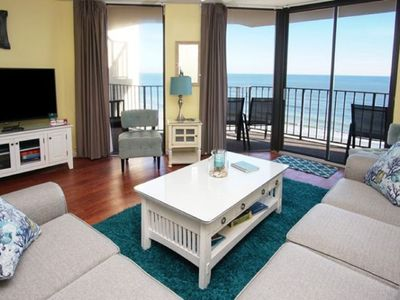 Photo for Summit 6C, 3 BR Beautifully Decorated Ocean Front Luxury Condo with an Outdoor Swimming Pool