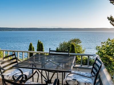 Biggest Ocean Views on Camano!  Watch whales, dolphins, eagles & more.