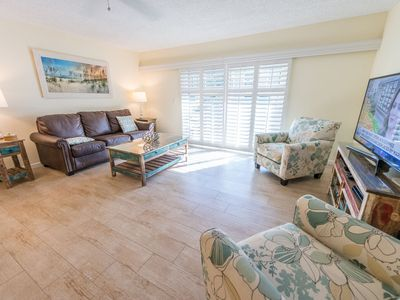 Photo for Renovated ---Ground Floor Unit Large Heated Pool