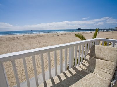 Photo for Beautiful Luxury Oceanfront Single Family Home with Rooftop Hot Tub!