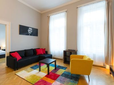 Photo for Apartment 320 m from the center of Budapest with Internet, Lift, Washing machine (700060)