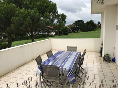 Photo for Spacious apartment, golf view