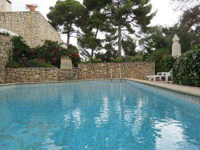 Photo for 50m2 roof villa, 100m2 terrace, private pool between Antibes and Cannes