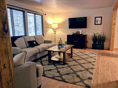 Photo for McCall Fun: hot tub, pet friendly, fully fenced backyard, pool table