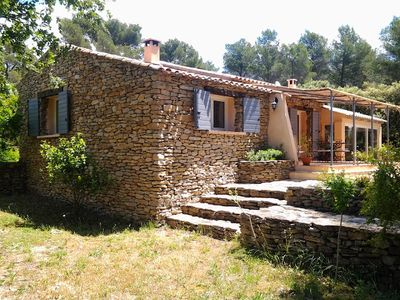Photo for Provencal house with pool- Peace and quiet in the heart of 13 000 m2 of greenery