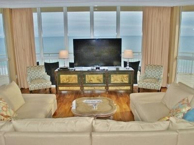 Photo for Exceptional 4,000 sq ft Luxury Condo floor to ceiling view Oceania 4