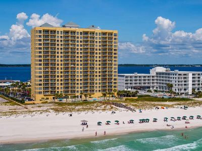 Photo for Beach Front w/Heated Outdoor Pool - Spectacular Views - Spring Break Dates Open!