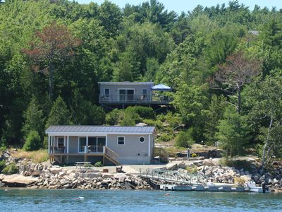 Photo for Oceanfront Cottage on  Somes Sound