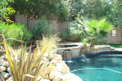 Pool and jacuzzi use