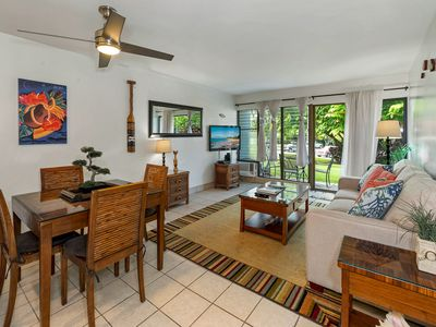 Photo for Contemporary Tropical Condo 45 seconds from Kamaole II Beach