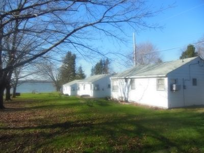 Photo for LAKEFRONT COTTAGES WITH DOCK AND BEAUTIFUL VIEWS OF LAKE PYMATUNING