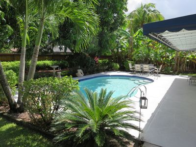 Photo for 4/2 Personal Home~Private Heated Pool, Pool Table, Beach, Golf, Shops, Dining...