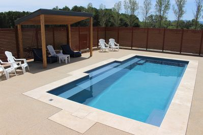 Mineral Pool with solar heating  *solar heating will be on for the warmer months