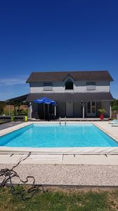 Photo for beautiful house with pool near the Beauval Zoo and castles of the Loire