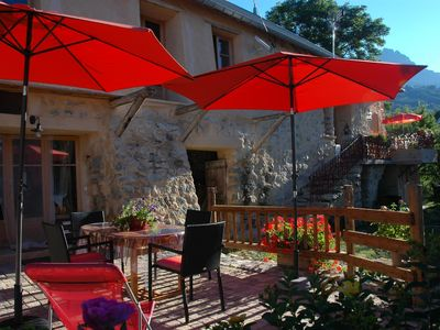 Photo for Charming cottage due south gates of Queyras, Ecrins and Embrun