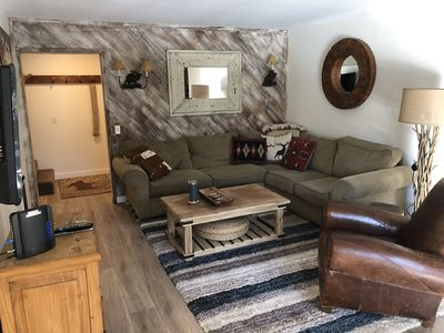 Living room with plenty of room for family gatherings