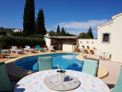 Photo for Immaculate detached Villa, located adjacent to Javea Golf club,