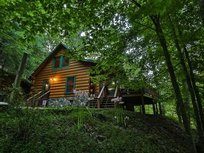 Photo for Jesse`s Place is perched high on a hill overlooking the Coosawattee River. Non pet-friendly.