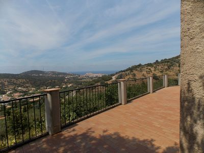 Photo for Villa fully equipped, air conditioned, with 2Kms of Ile Rousse, sea and mountain views
