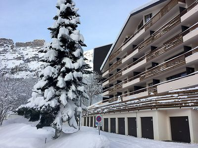 Photo for One bedroom Apartment, sleeps 2 in Leukerbad with WiFi