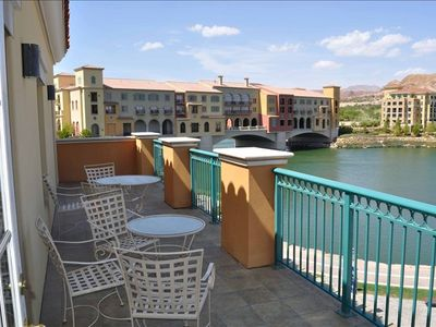Photo for Lakeside 3 Bedroom Condo, Montelago Village, Lake Las Vegas