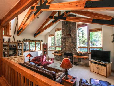 Photo for Spacious  home w/ deck, views, & private hot tub - close to world class skiing!