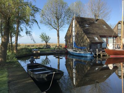 Photo for Gorgeous Lakeside Holiday Home in Gaastmeer