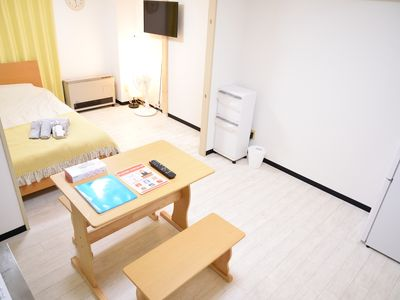 Photo for SP 17, 18/8 2 people Odori Park, Susukino walking distance!Unlimited Wifi
