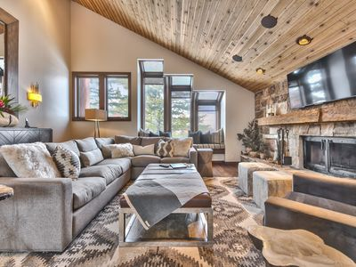 Photo for Luxury Slopeside Mountain Contemporary Perfection - Private Hot Tub, Ski Storage and More