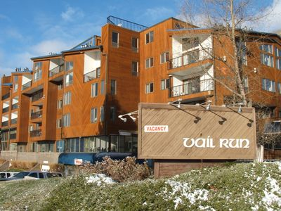 Photo for Come ski Vail Free WiFi, parking, coffee, gym, and shuttle