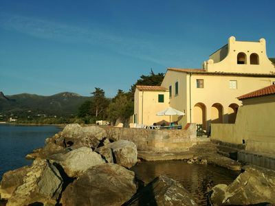 Photo for Elba - Villa Alberone - historic sea-lush villa