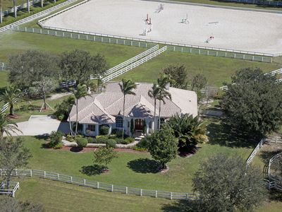 Photo for Wellingotn Equestian home located a golf cart or a bike ride to WEF horse shows