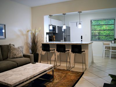 Photo for Luxury apartment close to University of Miami and Coconut Grove. Beautiful area!