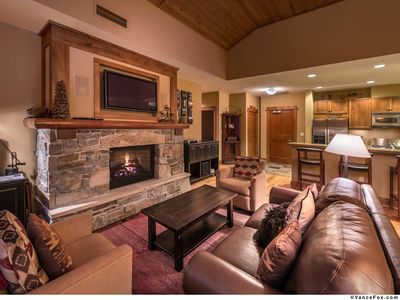 Photo for No Traffic =First Tracks!! Beautiful Condo In The Village - Ski-In, Ski-Out