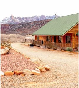 Photo for Zion Red Rock Cabin - Vacation Rental