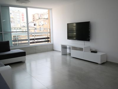 Photo for Spacious 4 bedroom near beach and Kikar - Completely renovated