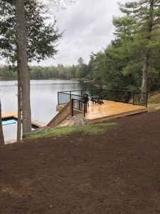 New Deck & Dock May 2018