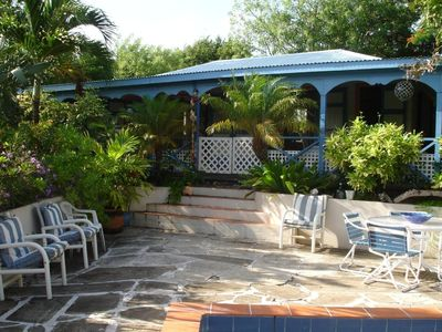 Photo for Romantic Hideaway - Caribbean-styled cottage in lush tropical gardens