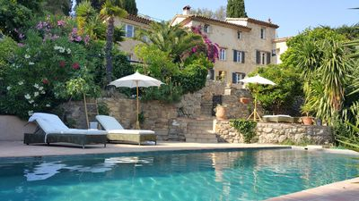 Photo for Bastide Old Charm Authentic and Close Panoramic View Valbonne