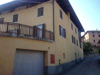 Photo for House Fanti Rumo Val di Non Trentino with panoramic terrace