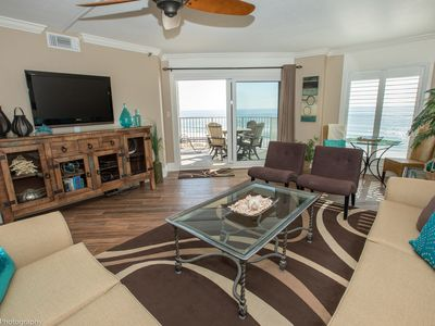 Photo for IR 303 is a fully Renovated 2 BR Gulf Front with amazing views - Washer/Dryer