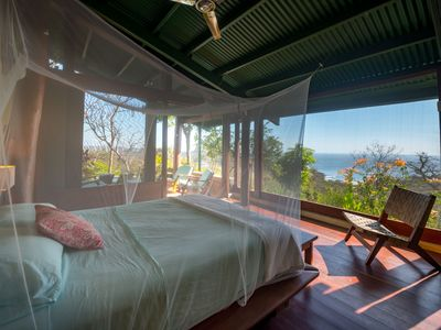 Photo for Casa Tranquila- Jungle Luxury with ocean views above Playa Maderas