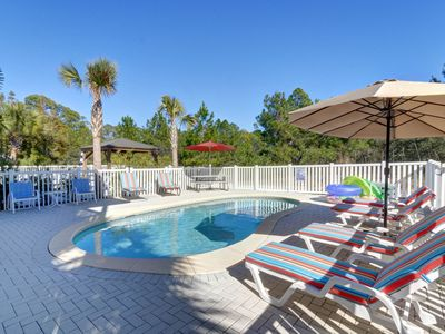 Photo for Beautiful Remodel~Private Pool~Quiet Neighborhood~ Close to Beach