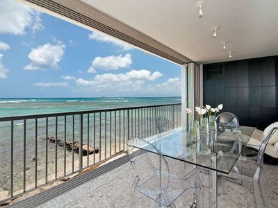 Photo for OCEANFRONT Modern Condo on the Gold Coast (Sleeps 4)