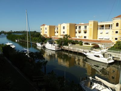 Photo for Waterfront Dream Condo on Little Sarasota Bay